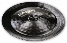 PAISTE 900 Color Sound Black China 18""