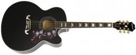 Elektroakustická kytara EPIPHONE EJ200-SCE, Rosewood Fingerboard -Black