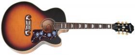 Elektroakustická kytara EPIPHONE EJ200-SCE Vintage Sunburst