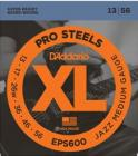 D'ADDARIO EPS600 Pro Steels Jazz Medium - .013 - .056