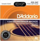 D'ADDARIO EXP15 Phosphor Bronze Extra Light - .010 - .047