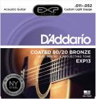 D'ADDARIO EXP13 80/20 Bronze Custom Light - .011 - .052