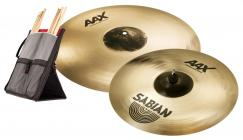 "SABIAN AAX X-Plosion Crash 17"" + 19"" Set"