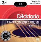 D'ADDARIO EXP17-3D Phosphor Bronze 13-53
