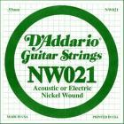 D'ADDARIO XL Nickel Wound - Jednotlivá struna - .021