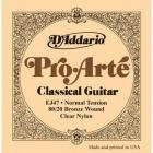 D'ADDARIO EJ47 Gold Nylon Pro Arté Normal - .028 - .043