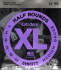 D'ADDARIO EHR370 Half Rounds Super Medium - .011 - .049
