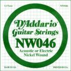 D'ADDARIO XL Nickel Wound - Jednotlivá struna - .046