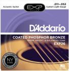 D'ADDARIO EXP26 Phosphor Bronze Custom Light - .011 - .052