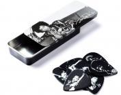 DUNLOP JHPT05H Jimi Hendrix Silver Portrait Pick Tin