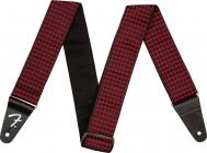 FENDER Houndstooth Strap Red