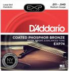 D'ADDARIO EXP74 Mandolin Medium .011 - .040