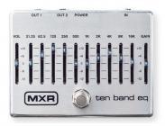 DUNLOP MXR M108S 10-Band Equalizer Silver