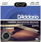 D'ADDARIO EXP75 Mandolin Heavy .0115 - .041