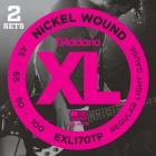 D'ADDARIO EXL170TP Regular Light - .045 - .100