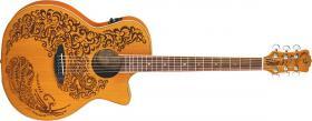 LUNA GUITARS Henna Oasis II Cedar