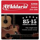 D'ADDARIO EZ930 80/15 Bronze Medium - .013 - .056