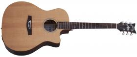 SCHECTER Deluxe Acoustic Natural Satin