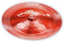 "PAISTE 900 Color Sound Red China 14"""
