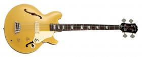 EPIPHONE Jack Casady Bass, Rosewood Fingerboard - Metallic Gold