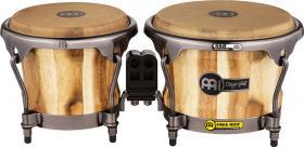"MEINL DG400CW Artist Series Wood Bongo Diego Galé 7"" x 8 1/2"" - Calf Heads"