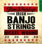 DUNLOP DJN1236 Irish Tenor Banjo Nickel