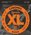 D'ADDARIO ECG26 Chromes Flat Wound Medium 13-56