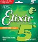 ELIXIR Bass Extra Long Scale Nanoweb 15433 Medium XL B 130tw