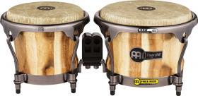 "MEINL DGR400CW Artist Series Wood Bongo Diego Galé 7"" x 8 1/2"" - Fiberskyn Heads"