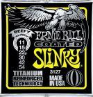 ERNIE BALL P03127 Coated Titanium RPS Beefy Slinky - .011 - .054