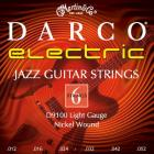 DARCO D 9100 012 niklované pro elektrickou kytaru, ovinutá struna G, síla .012