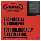 EVANS EC2S Clear Tom Pack - Fusion