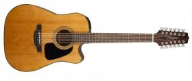 TAKAMINE GD30CE-12, Rosewood Fingerboard - Natural