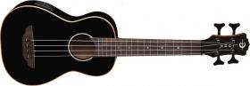 LUNA GUITARS Ukulele Bass Black
