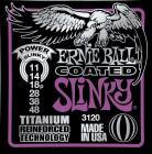 ERNIE BALL P03120 Coated Titanium RPS Power Slinky - .011 - .048