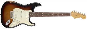 FENDER Road Worn® 60's Stratocaster®, Rosewood Fingerboard, 3-Color Sunburst