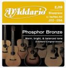 D'ADDARIO EJ19 Phosphor Bronze Low Top/ Medium Heavy - .012 - .056