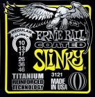 ERNIE BALL P03121 Coated Titanium RPS Regular Slinky - .010 - .046
