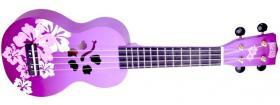 MAHALO MD1HB Hibiscus Purple Burst