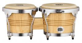 MEINL WB200NT-CH Wood Bongos - Chrome Plated Hardware