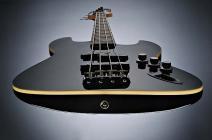 FENDER Aerodyne™ Jazz Bass®, Rosweood Stained Fingerboard, Black