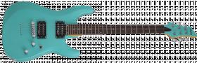 SCHECTER C-6 Deluxe Satin Aqua