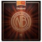 D'ADDARIO NB1047 Nickel Bronze Acoustic Extra Light