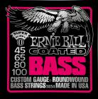 ERNIE BALL P03836 Coated Bass Super Slinky - .045 - .100