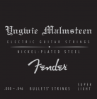 FENDER Yngwie Malmsteen Nickel Plated Steel - .008 - .046