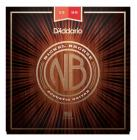 D'ADDARIO NB1356 Nickel Bronze Acoustic Medium